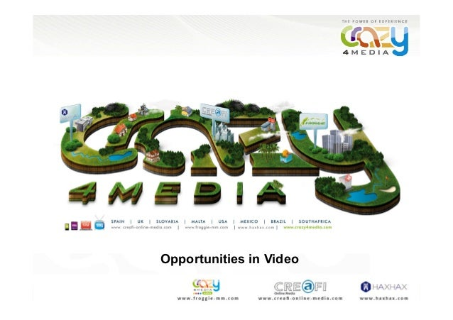 Opportunities in Video