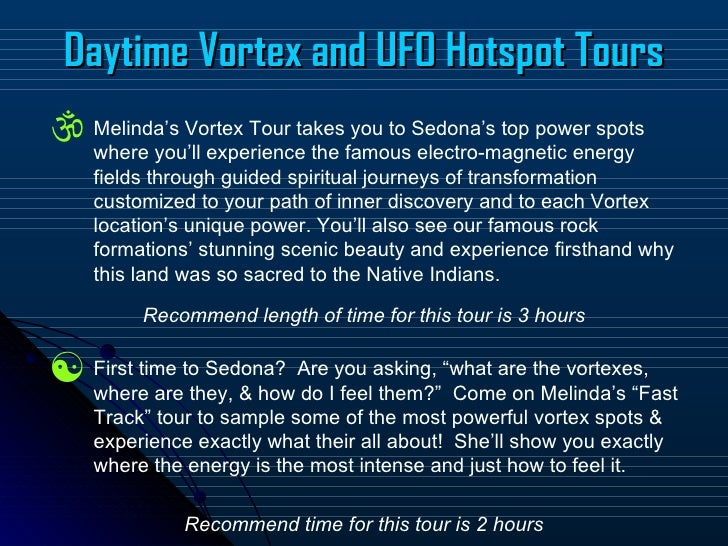 Center for the New Age - Vortex Tours