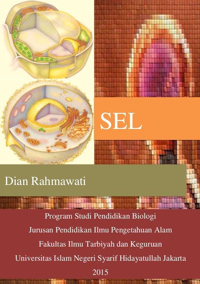 Buku Tentang Sel - Dian Rahmawati 1113016100044