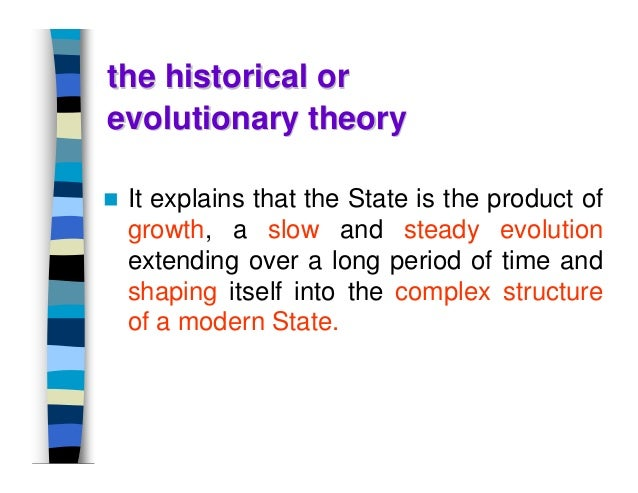 """theory of origin of state A theory of the origin of the state """"traditional theories of state origins are considered and rejected in favor of a new ecological hypothesis."""