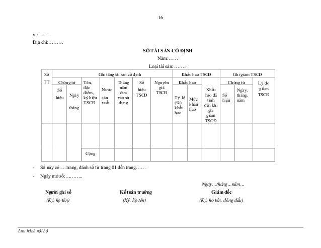 Kết quả hình ảnh cho Sổ tài sản cố định biểu 4.2