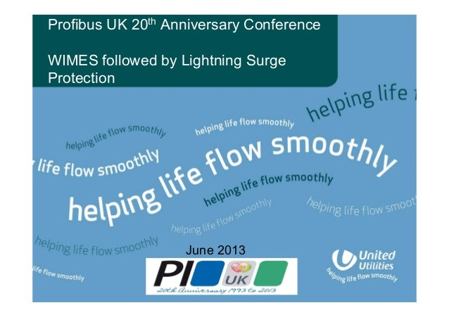 Profibus UK 20th Anniversary Conference WIMES followed by Lightning Surge Protection June 2013