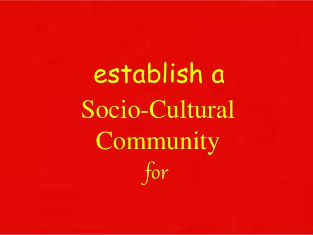 socio cultural essays Sample essay on culture and society by lauren bradshaw language teaches cultural heritage and sense of identity in a culture essays, dissertations and.