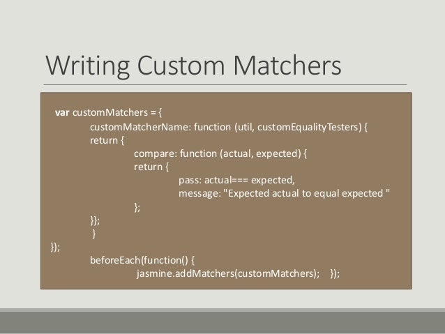 writing custom hamcrest matchers