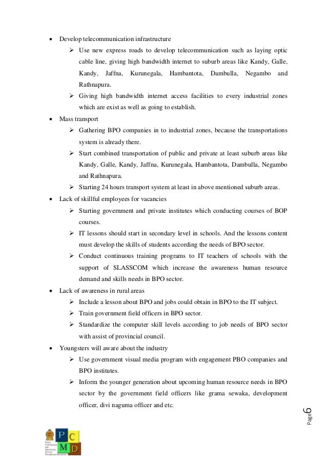 7. Page6  Develop Telecommunication Infrastructure ...