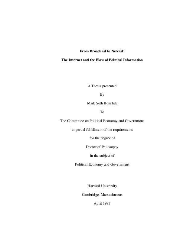 Essex phd thesis