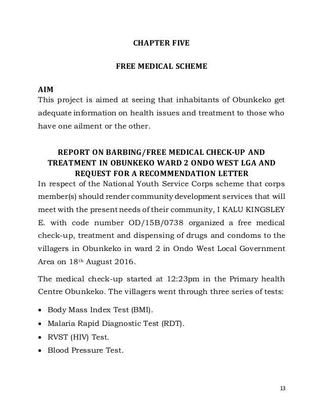 Nysc report kalu kingsley e od 15b 0738 24 spiritdancerdesigns Image collections
