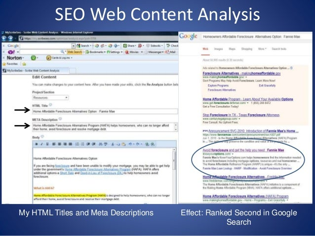 SEO Web Content Analysis Project Example-1