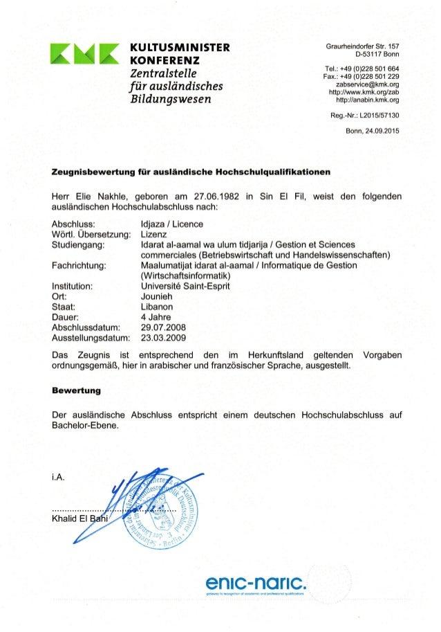 xxx KU ITUSMIN ISTER KONFERENZ Zentralstelle fiir auskindisches Bildungswesen Graurheindorfer Str. 1 57 D-531 17 Bonn Tel....