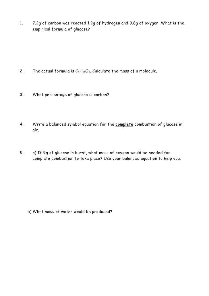 ... Empirical formula \u003d Name \u003d 11.