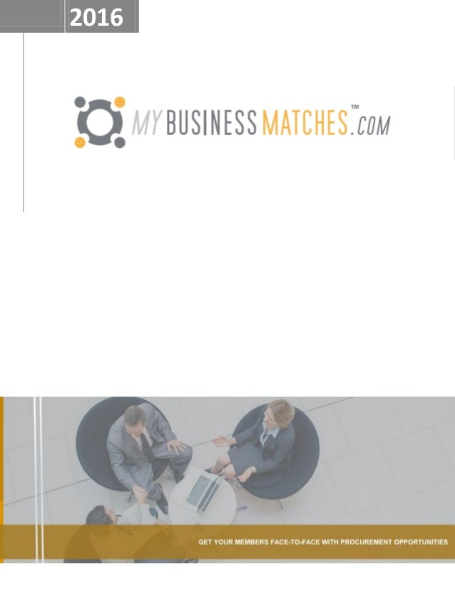 SBA business matchmaking