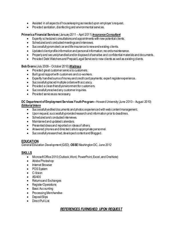 Sample Environmental Educator Resumes