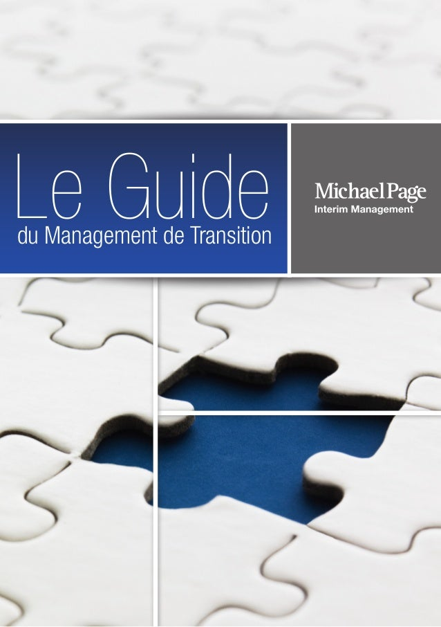 du Management de Transition Le Guide