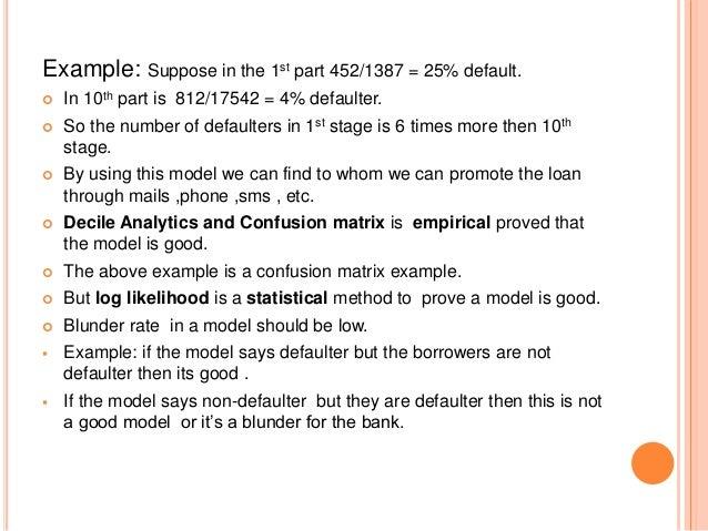 Credit risk management ppt download.