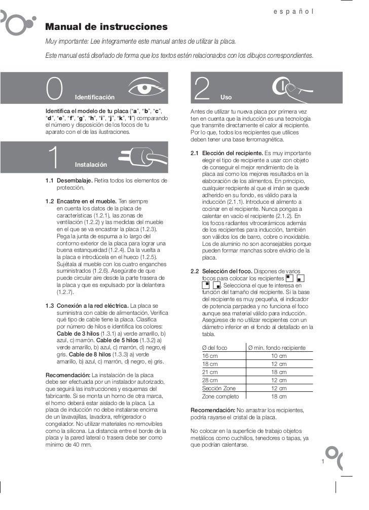 c60 t419a5 manual fagor induccion 14 idiomas servicio tecnico fagor. Black Bedroom Furniture Sets. Home Design Ideas