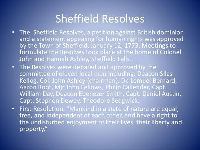 Mum Bett Claverack to Sheffield Slavery to Freedom