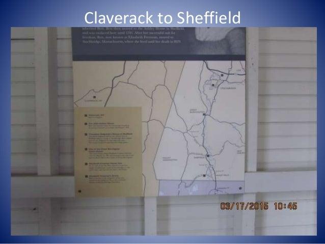 Claverack to Sheffield