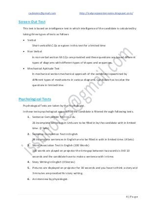Issb Test Book