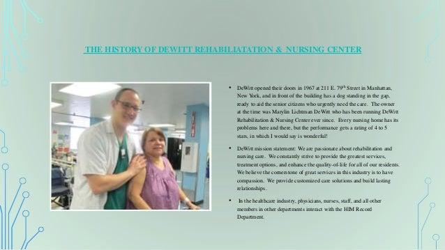 Dewitt Nursing Home In Manhattan