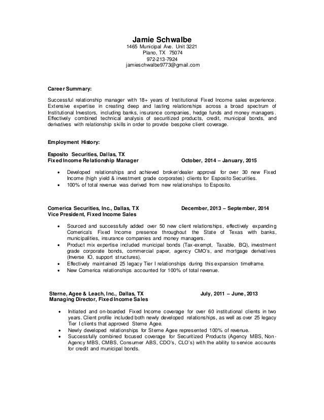 jamie schwalbe resume may 2015