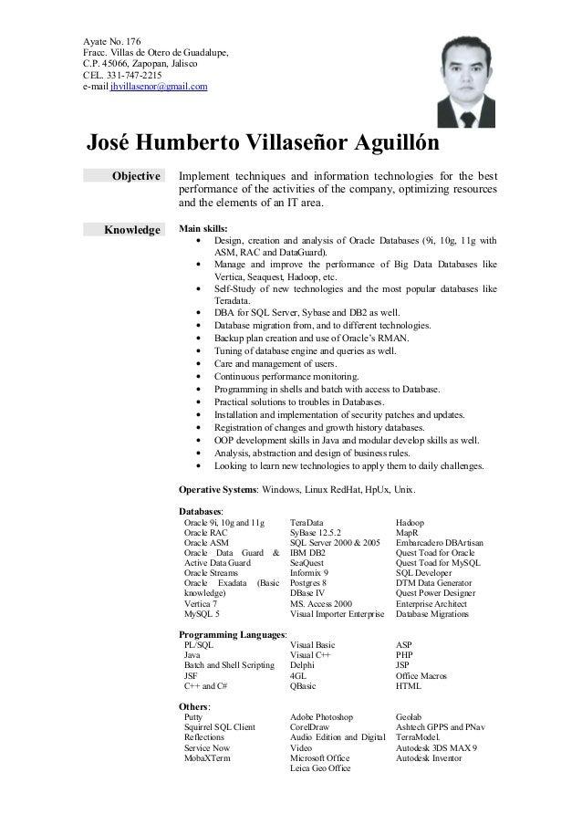 jhva resume