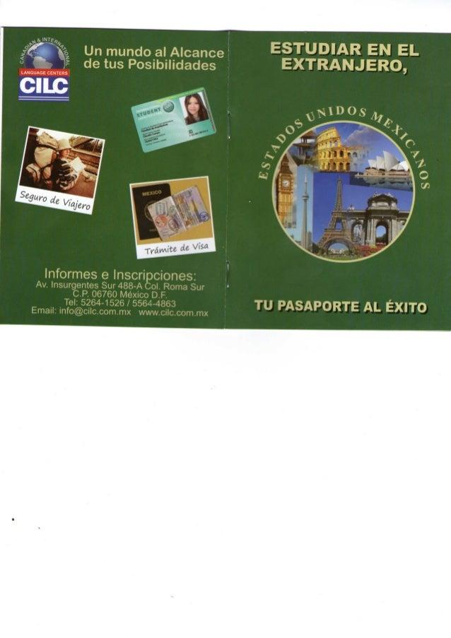 Publicacion Pasaporte de Mexico