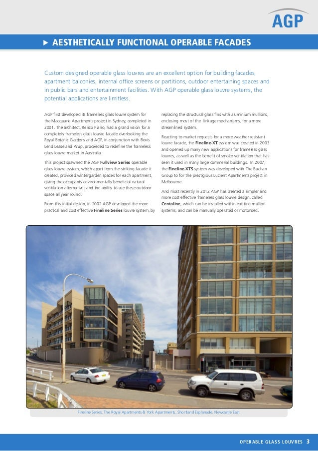 Agp Operable Glass Facades Overview