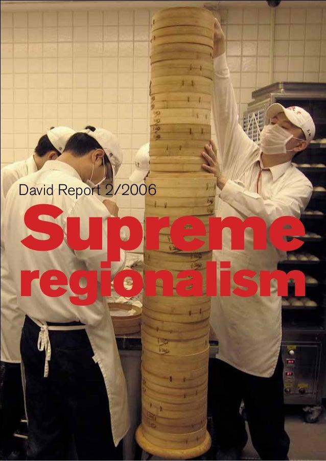 Supreme David Report 2/2006 regionalism