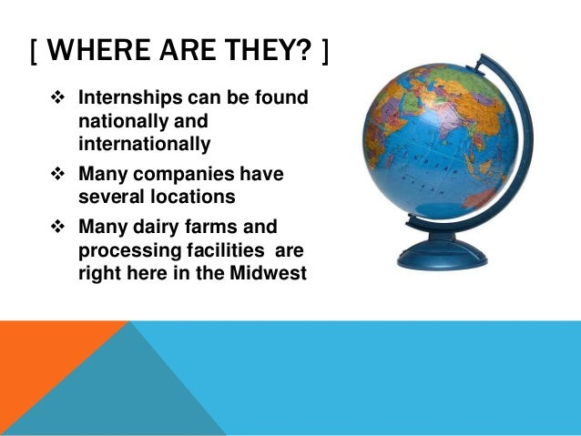 how to find internship in usa