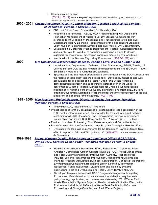 • Communication support. (03/11 to 03/12) Nuclear Projects: Tepco Mutsu-Cask, Shin-Wolsong 1&2, Shin-Kori 1,2,3,4, Shin-Ul...