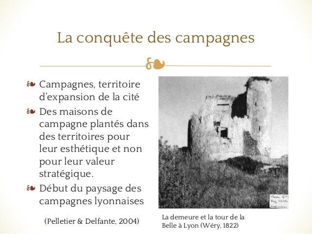 ❧ La conquête des campagnes ❧ Campagnes, territoire d'expansion de la cité ❧ Des maisons de campagne plantés dans des terr...