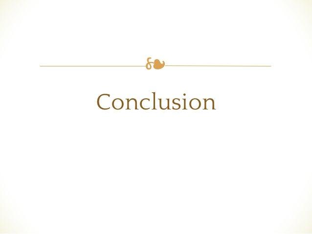 ❧ Conclusion