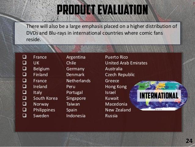 ProductEvaluation  France Argentina Puerto Rico  UK Chile United Arab Emirates  Belgium Germany Australia  Finland Den...