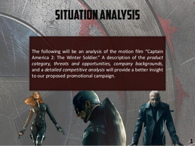 """The following will be an analysis of the motion film """"Captain America 2: The Winter Soldier."""" A description of the product..."""