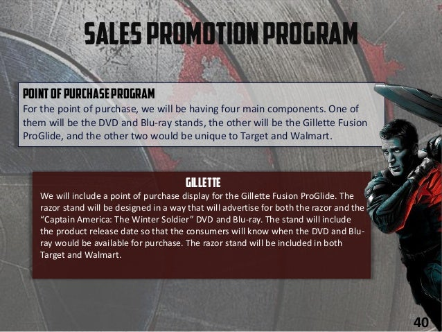 SalesPromotionProgram PointofPurchaseProgram For the point of purchase, we will be having four main components. One of the...