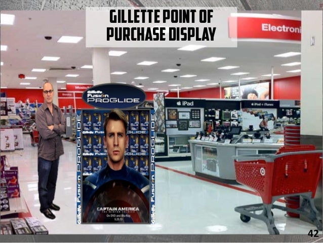 GillettePointof PurchaseDisplay 42
