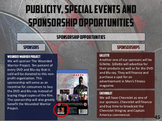 Publicity,SpecialEventsand SponsorshipOpportunities SponsorshipOpportunities Chevrolet We will have Chevrolet as one of ou...