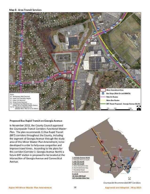 Aspen Hill MMPA Transportation Section Appendix May 15