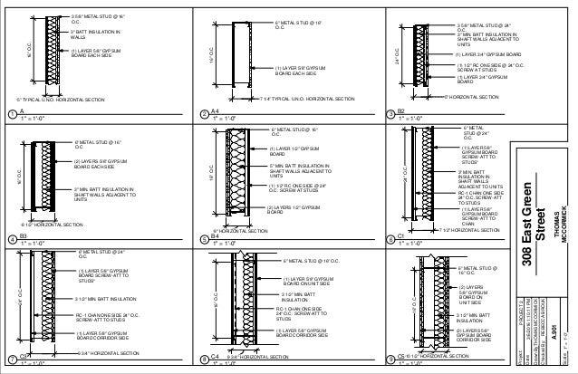308 East Green Street Revit Project Book