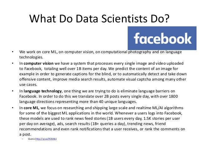 Introduction to Big Data and Data Science