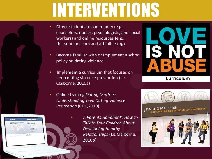 dating matters curriculum