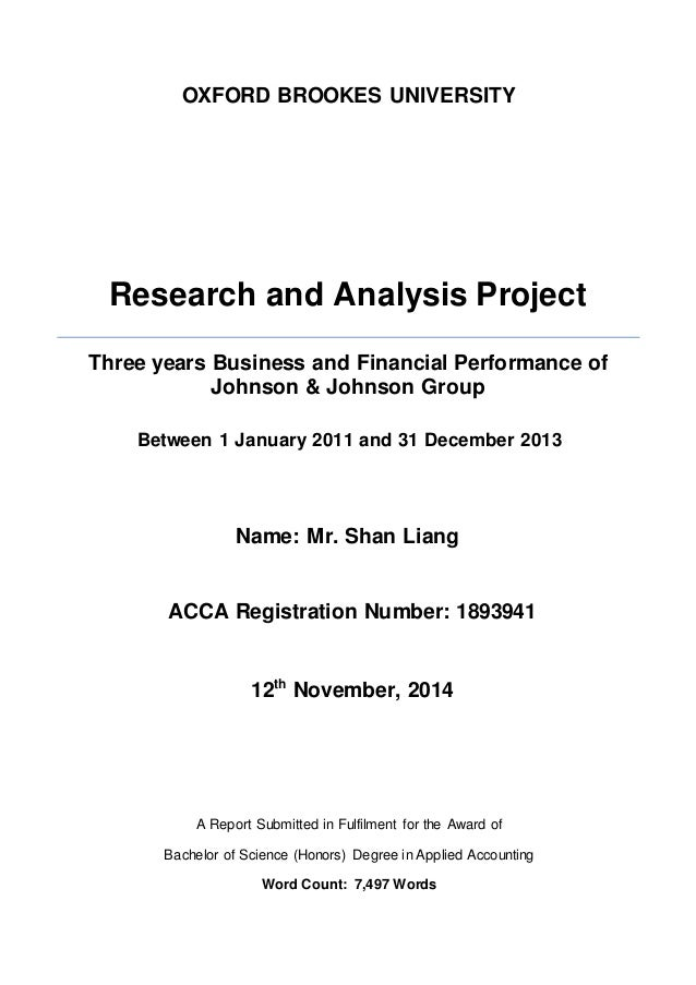 oxford brookes research and analysis project Oxford brookes bsc  an acca student must successfully complete  and then submit and pass the revised oxford brookes research and analysis project.