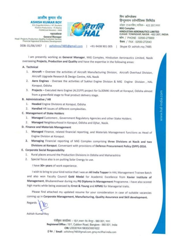 Geologist Resume India Cover Letter Designs