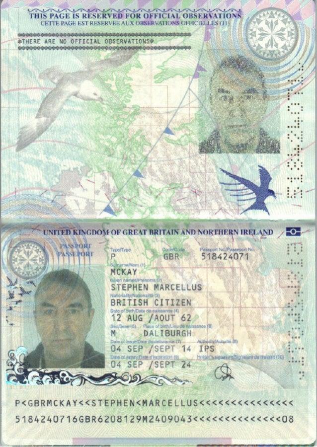 Mckay M 2024 - Second Stephen Passport