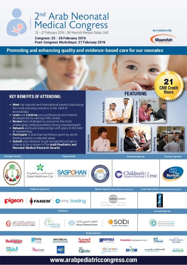 An Initiative By: Promoting and enhancing quality and evidence-based care for our neonates Congress: 25 - 26 February 2016...