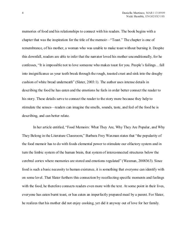 food memoir essay examples memoir essay examples example of a  hd image of food memoir essaymsword 10 literacy memoir essay examples essay checklist