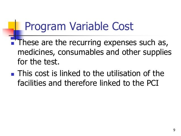 examples of fixed and variable costs in health care Some people may discuss variable and fixed costs as direct and indirect costs, as well, referring to which costs are directly associated with patient care versus those that arise from other.