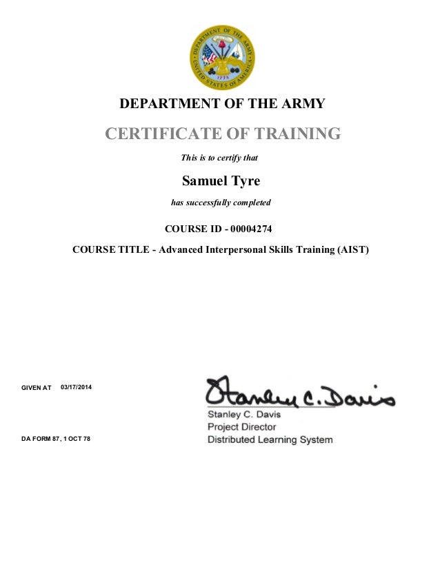 The Army: The Army Uses Training Education And Awareness
