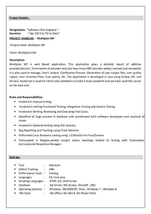Hari_New Resume Slide 2