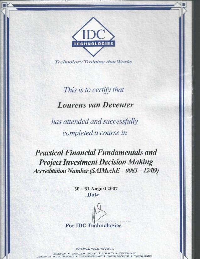 IDC Slide 1